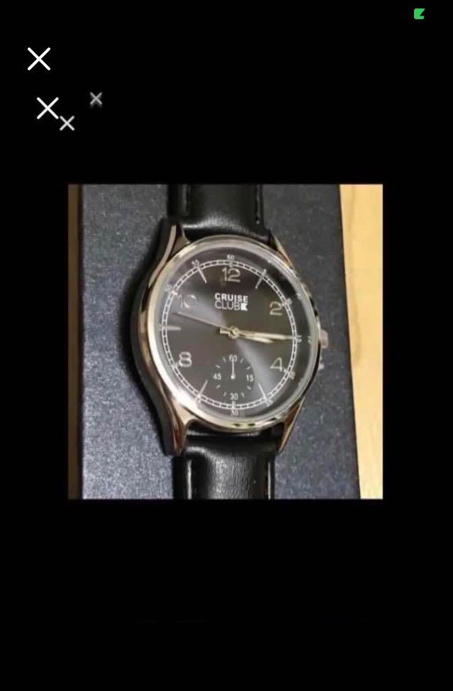 CLEARANCE SALES {Sports Gear - Quartz Watch} BN CRUISE CLUB Brand Ladies Fashion Classic Black Leather Belt Stainless Steel CaseBack Wrist Quartz Watch