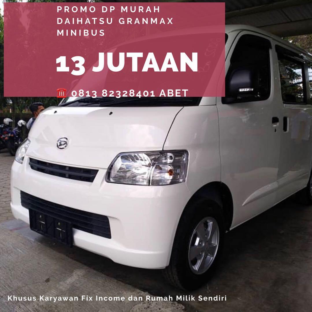Daihatsu Granmax Minibus DP MURAH  mulai 13 jutaan