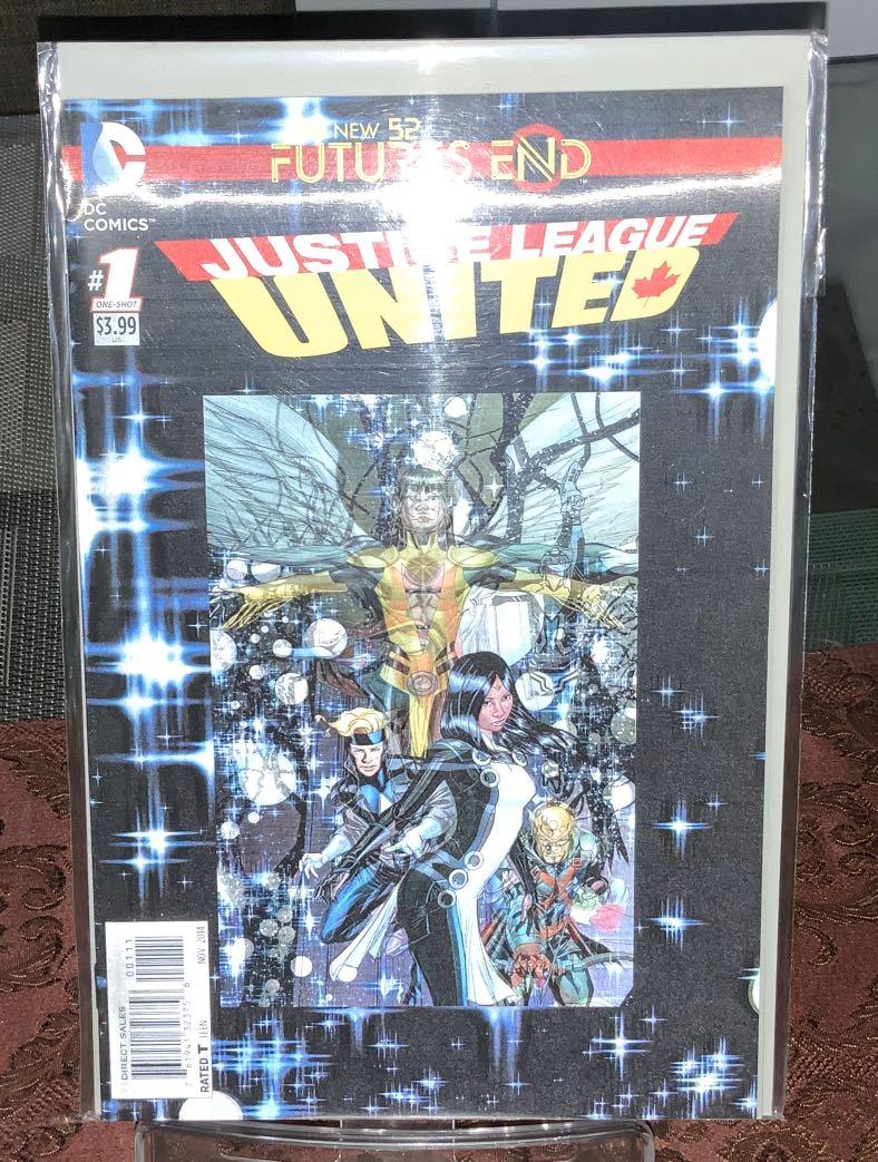 DC Comics The New 52 Futures End Justice League United Comic Book (One-Shot)