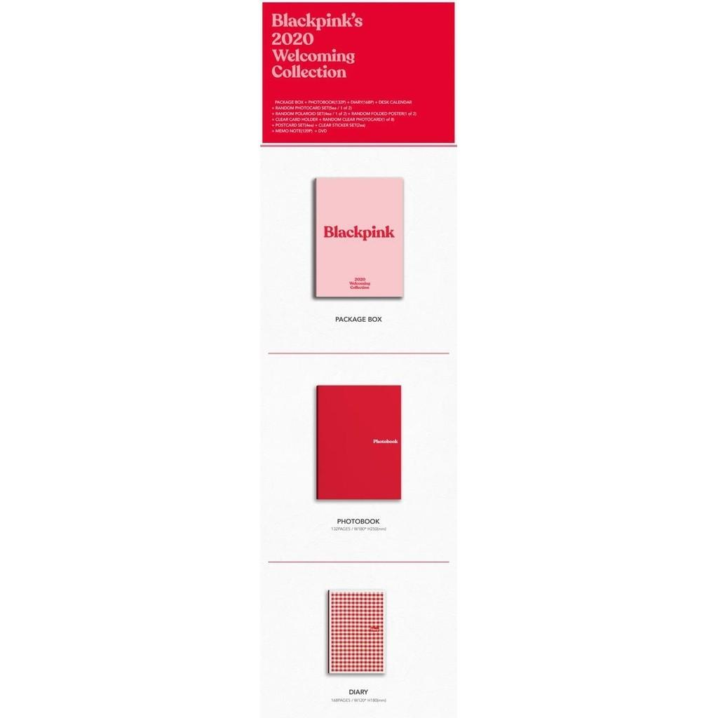 (incoming ready stock/ loose item) blackpink 2020 welcoming collection