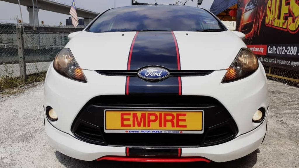 FORD FIESTA S 1.6L (A) SPORT TI-VCT 4 DOOR HATCHBACK !! CBU !! LIMITED SPORT EDITION !! NEW FACELIFT !! FULL BODYKIT !! FRONT WHEEL DRIVE !! PREMIUM HIGH SPECS !! ( WXX 9279 ) 1 CAREFUL OWNER !!