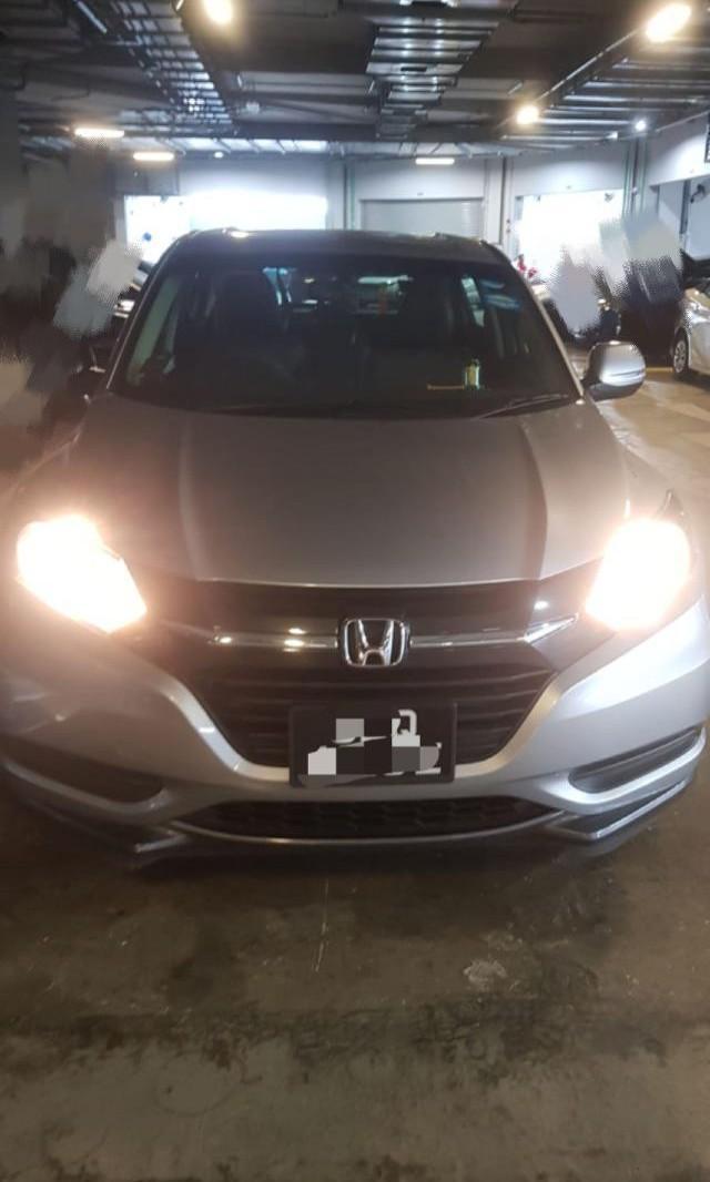Honda Vezel Hybrid For Rent / Can use for Grab and Gojek