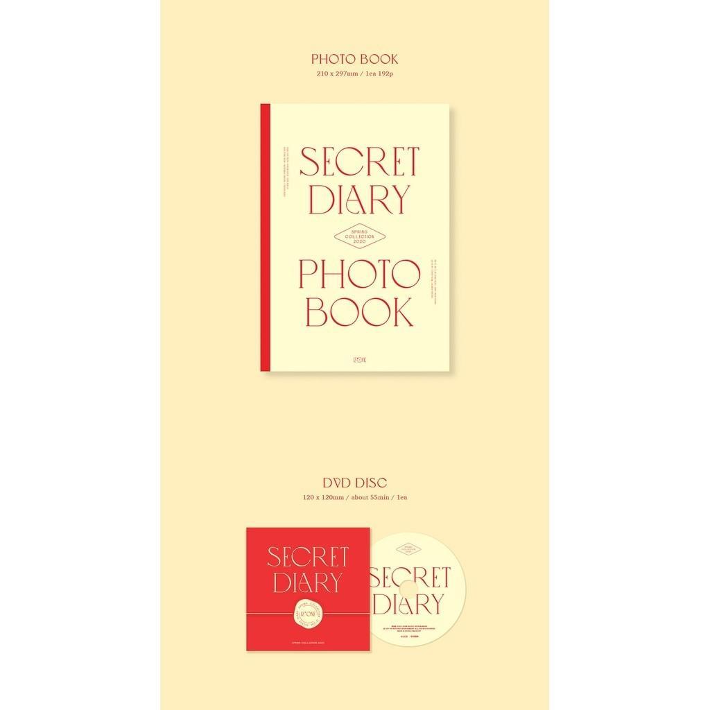 (loose item) Iz*one izone 2020 secret diary collection