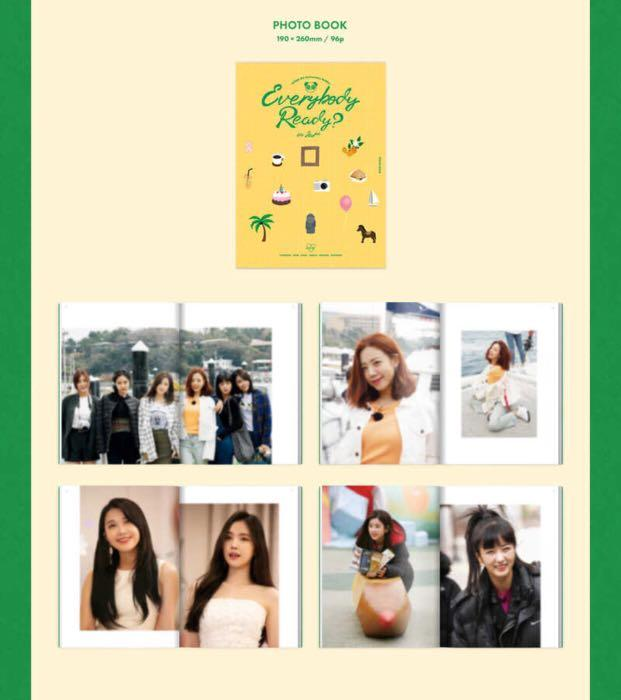 [PREORDER] APINK 8th Anniversary Reality - EVERYBODY READY ? in Jeju ( Photo Diary Package )