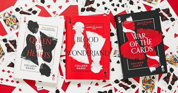 Queen of Hearts Trilogy Book Set By Colleen Oakes- New