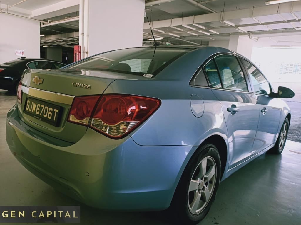 QUICKLY CONTACK US AND RENT OUR CHEVROLET CRUZE AWAY AT A LOW RATE !!