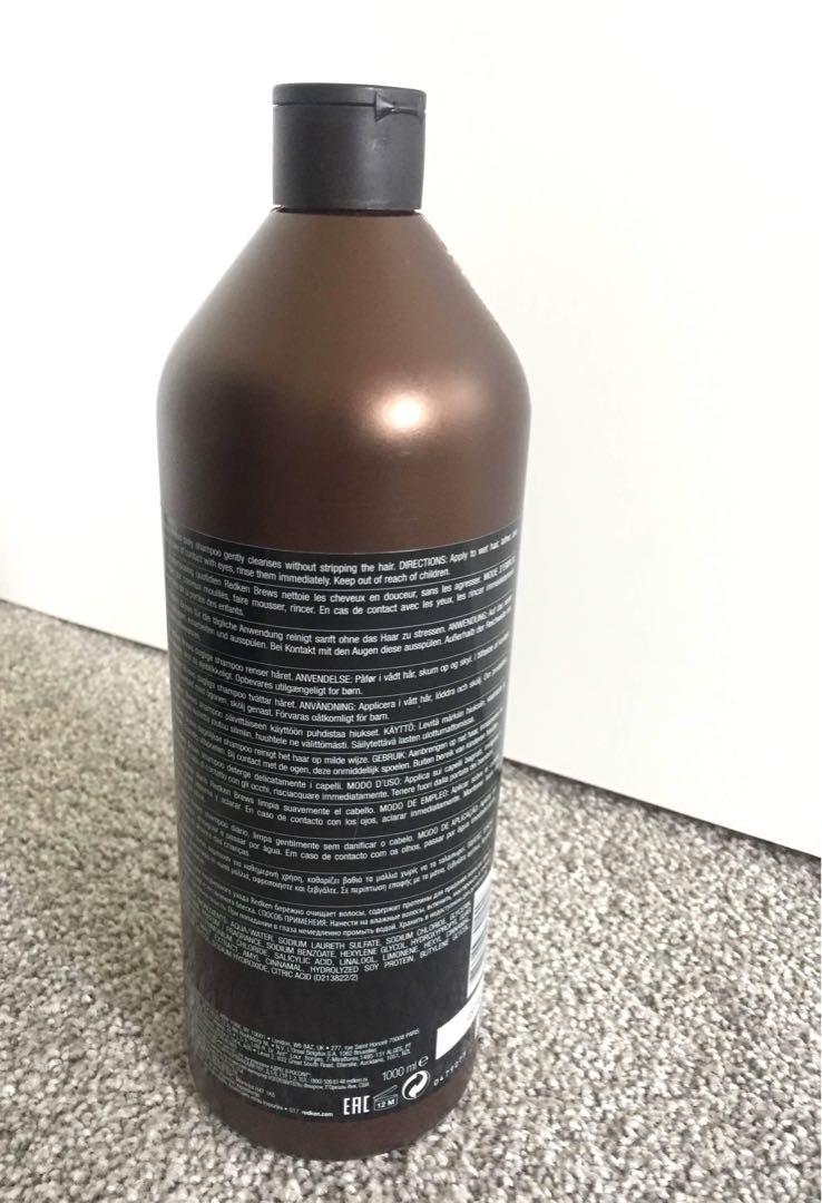 Redken Brews Daily Shampoo with crafted malt 1000ml