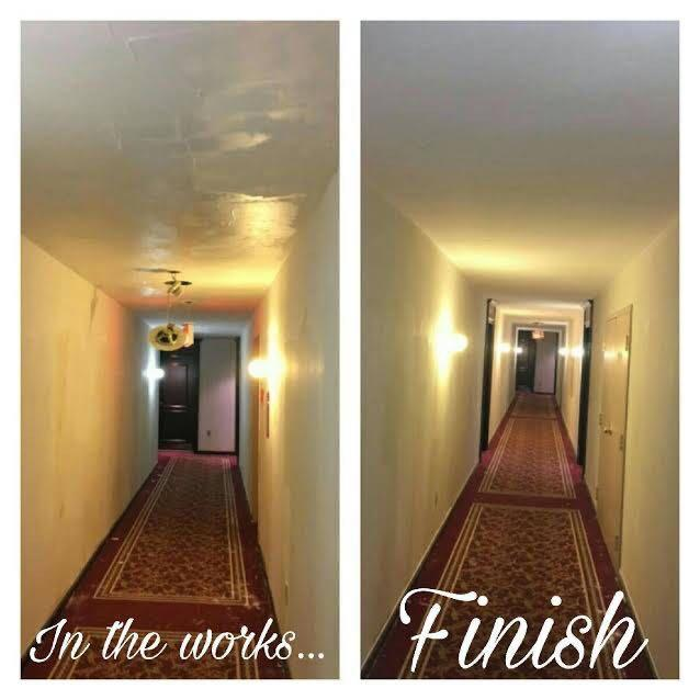 Stucco ceiling removal & drywall repairs at an affordable price!