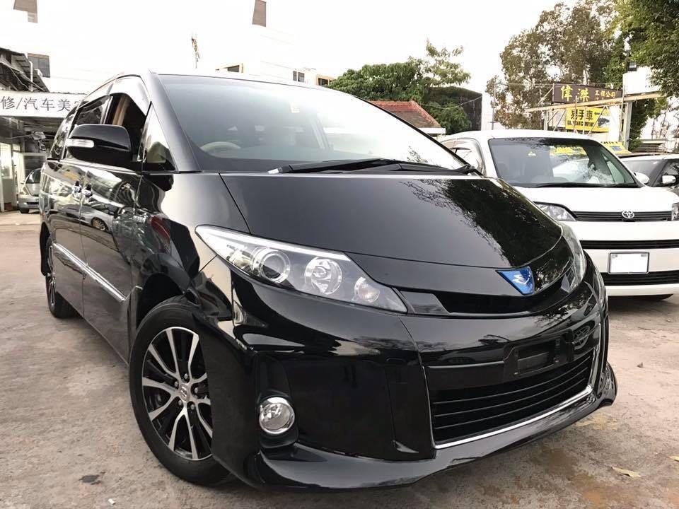 Toyota Estima Hybrid Aeras Facelift Auto