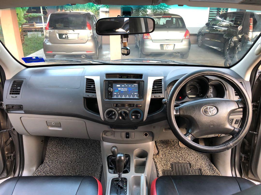 Toyota Hilux Double Cab 2.5G Turbo Auto Tahun 2010