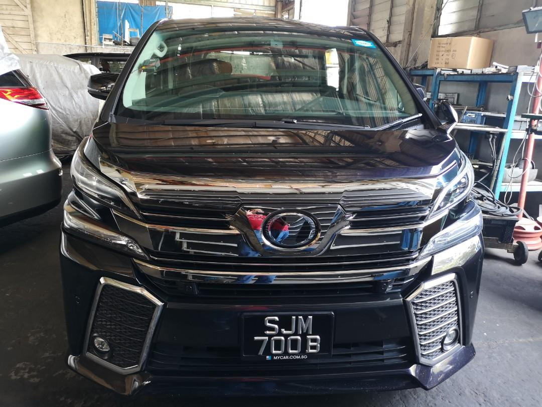 """Toyota Vellfire 2.5A ZG 7 Seater (Click on """"read more"""" for more details)"""