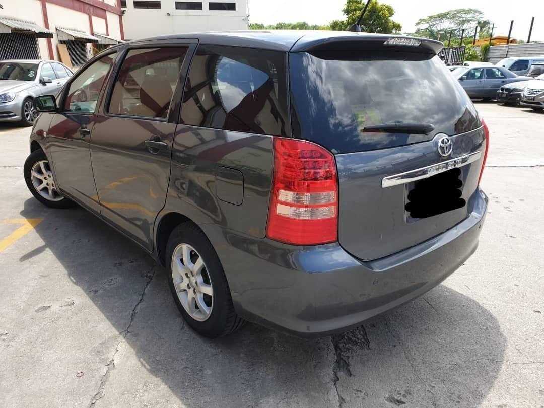 toyota wish full spec (SG CAR COMPLETE DOCUMENT, HALAL UNTUK KEGUNAAN DI MALAYSIA)
