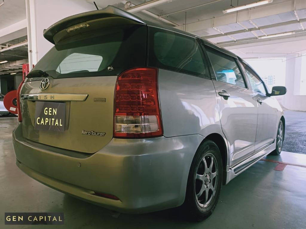 TOYOTA WISH! RENT WITH US AND START EARNING WITH OUR CARS AT OUR LOW RATES !HURRY UP CONTACT US~