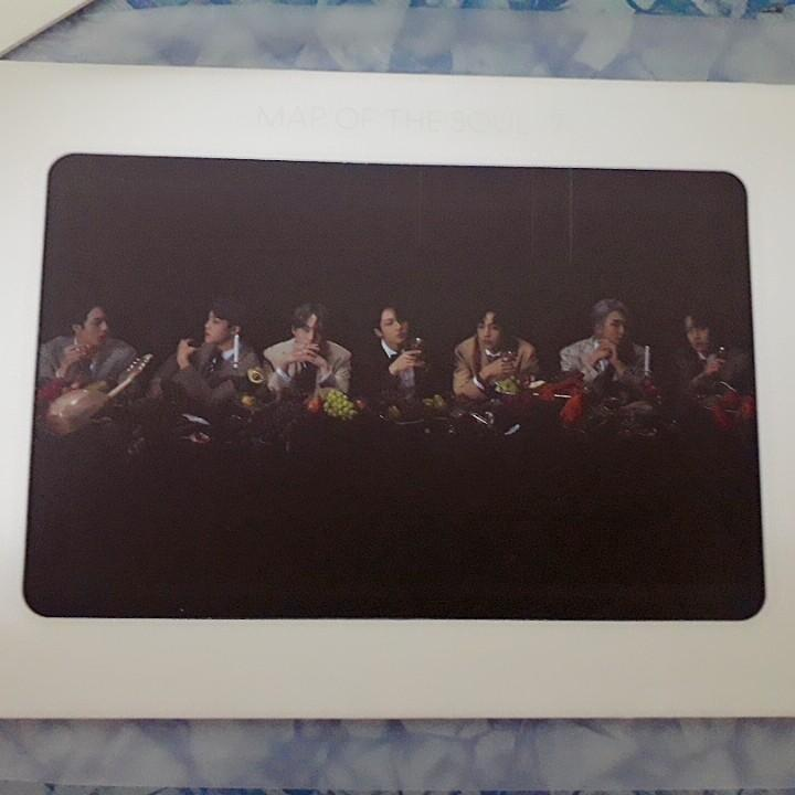[WTS Only] BTS MOTS:7 Version 3 Aurora Photo Frame (Weply Preorder Gift)