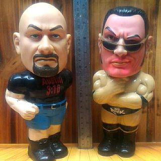 Action Figure The rock WWF