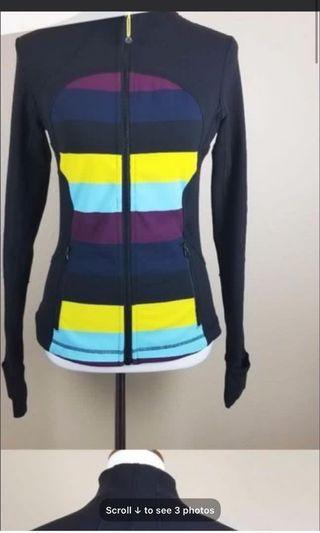 Lululemon Forme jacket size 2