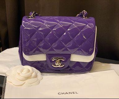 Chanel coco mini紫色