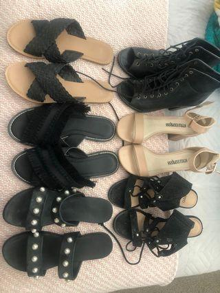 Shoes (see description for prices)