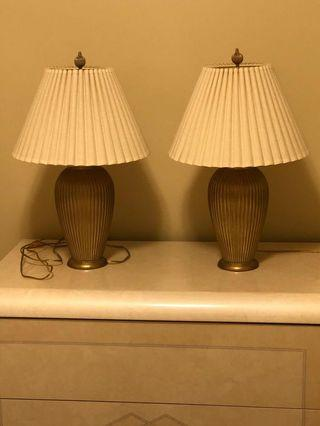 Elegant table lamps  in Excellent condition
