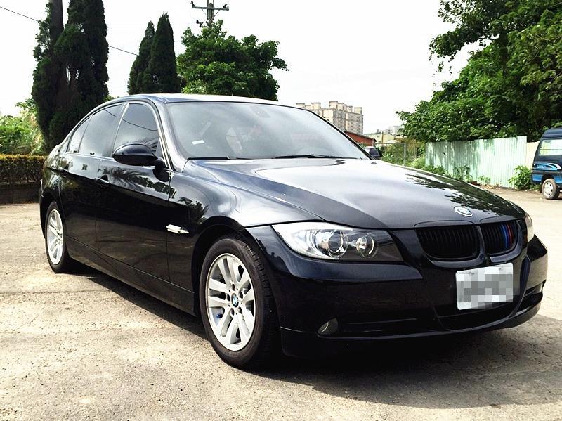 2007 BMW 320I 2.0 黑 配合全額貸、找 錢超額貸 FB搜尋 : 『阿文の圓夢車坊』