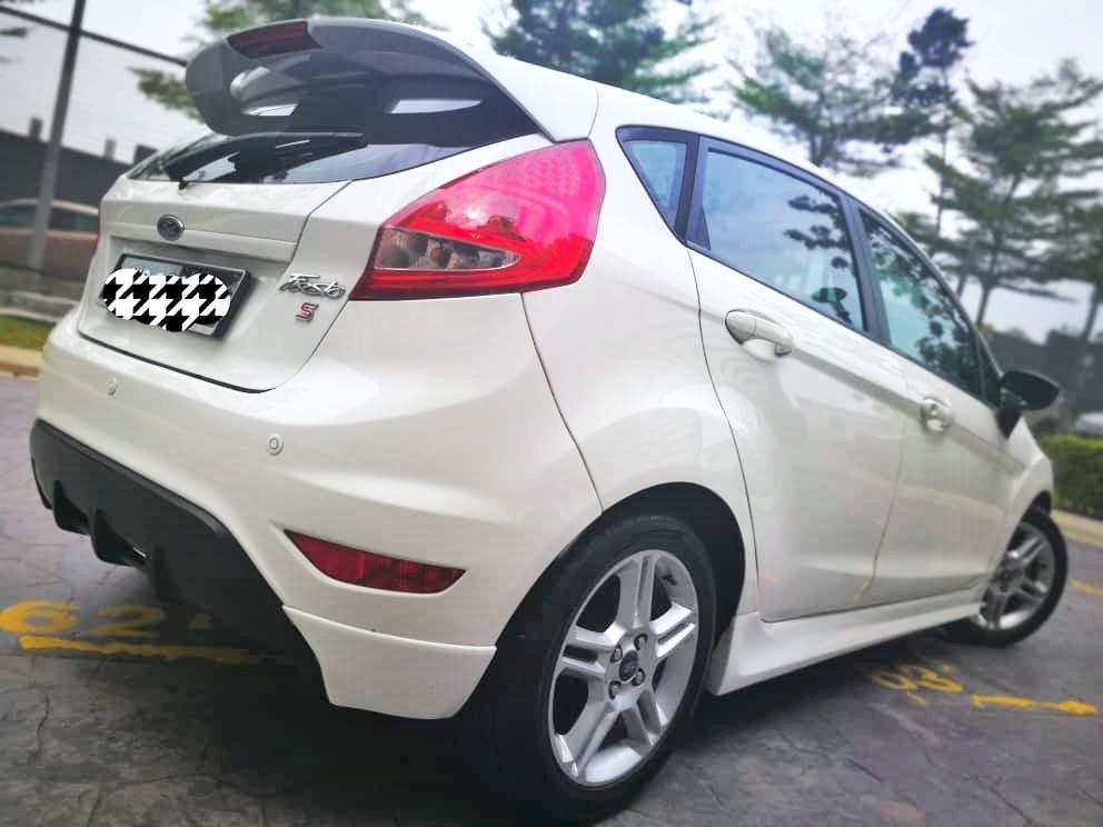 2012 Ford Fiesta 1.6 (A) Muka3990 Loan Kedai Senang Lulus.