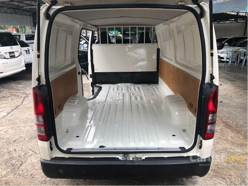 2015 Toyota Hiace 2.5 D (M) Panel Van One Owner  http://wasap.my/601110315793/Hiace2015