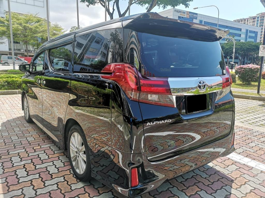 "2016 Toyota Alphard 2.5A S 7 Seater for Rental (Click on ""read more"" for more details)"