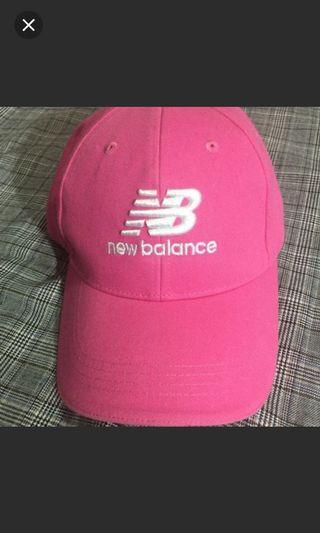 NB桃紅老帽new balance正版 #支持