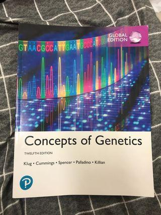 Pearson concepts  of genetics 12版全新