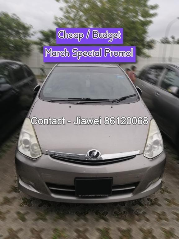 7 Seater weekly MPV CHEAP CAR RENT