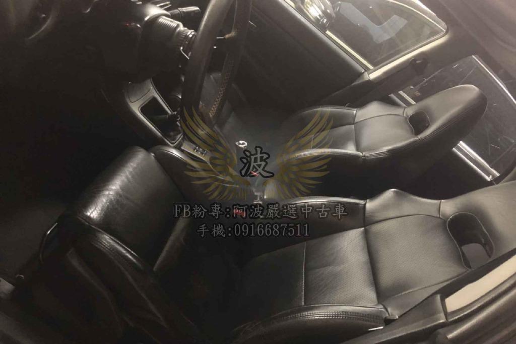 強力貸款 讓你開回家 經典WRX 原廠手排 HID 天窗 改避震 鋁圈 排氣管 拉桿 引擎翻修