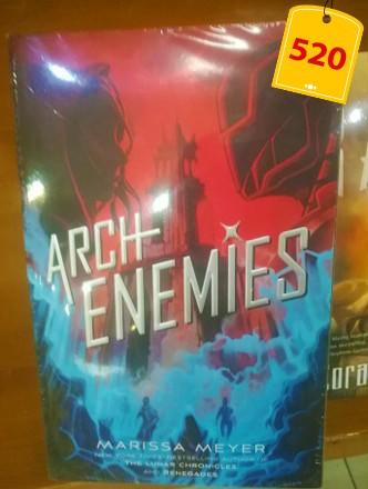 Archenemies - Marrisa Meyer / Rage - Cora Carmack / Children of Virtue and Vengeance- Tomi Adeyemi