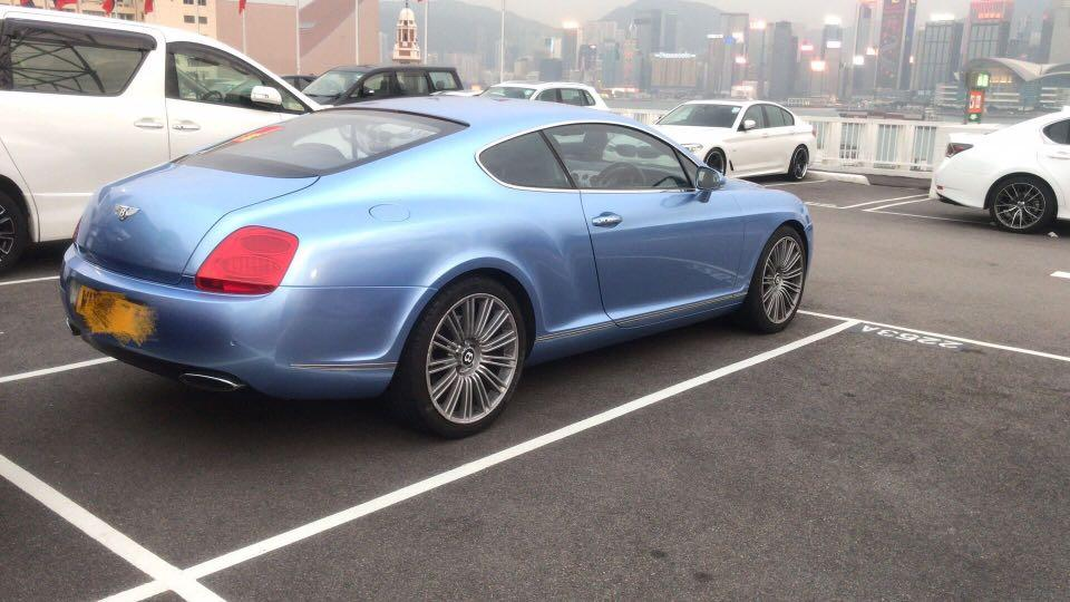Bentley Continental GT Speed (A)