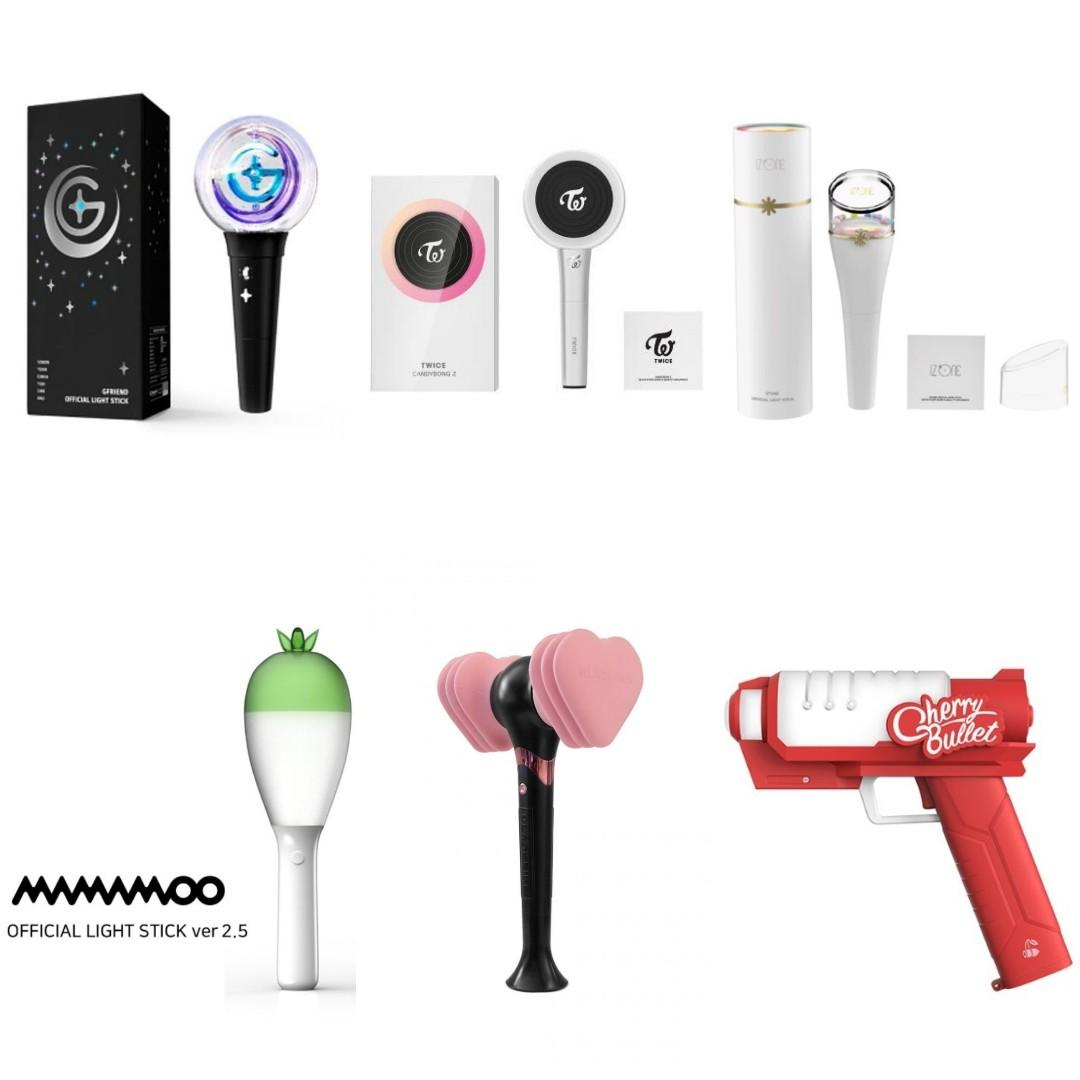 [OFFICIAL LIGHTSTICK] BLACKPINK TWICE GFRIEND MAMAMOO IZONE CHERRY BULLET   (JITAE K-SHOP)
