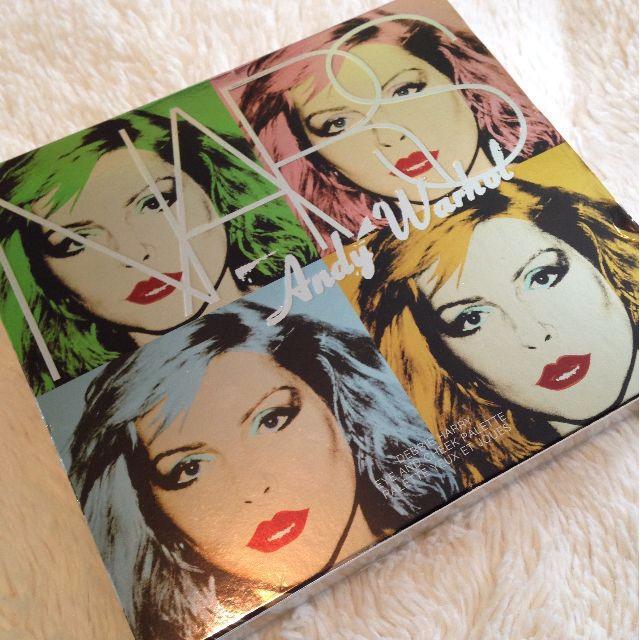 BNIB NARS x Andy Warhol Limited Edition Blush & Eyeshadow Palette