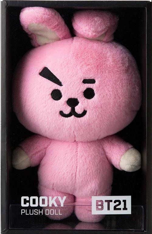 [READY STOCK] BT21 Official Authentic Goods Standing Plush Doll Medium KPOP COOKY