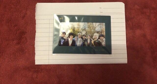 Incoming ready stock BTS WINTER PACKAGE LOOSE ITEM