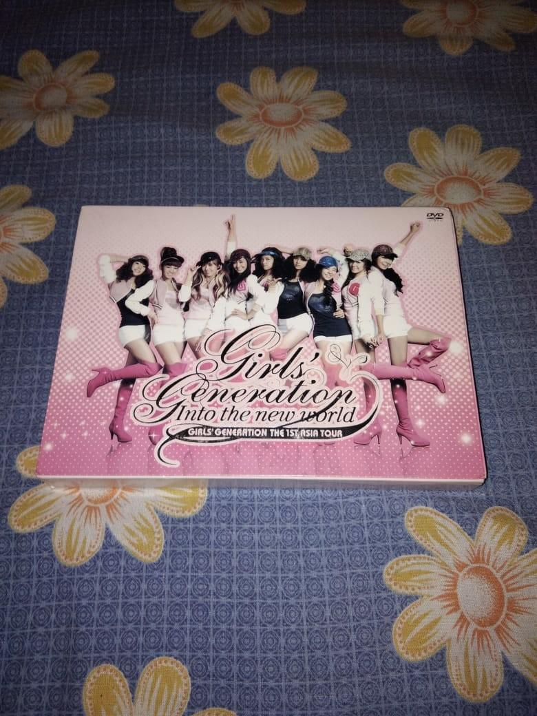 DVD concert snsd / girls' generation 1st tour into the new world