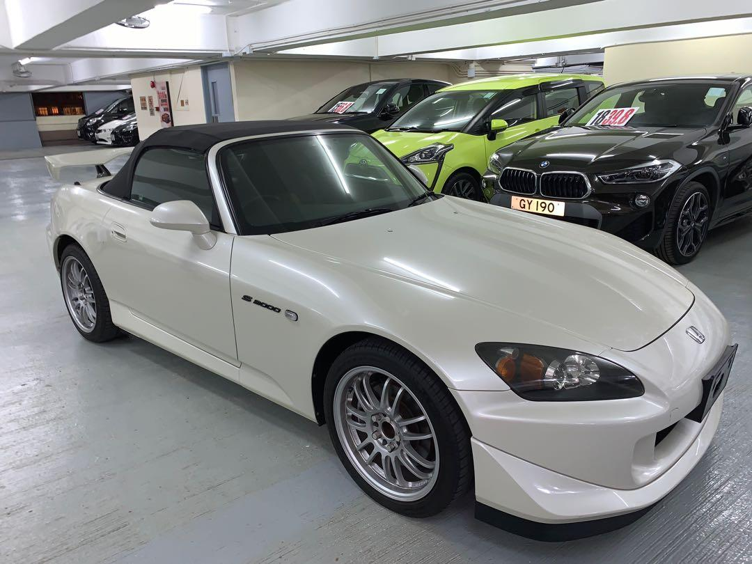 Honda S2000  AP2 TYPE S Manual