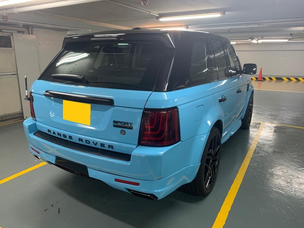 Land Rover Range Rover Sport 5.0 Supercharged (A)