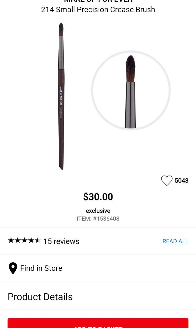 Makeup Forever 8pcs brushes * $367 VALUE YOURS FOR $250 *