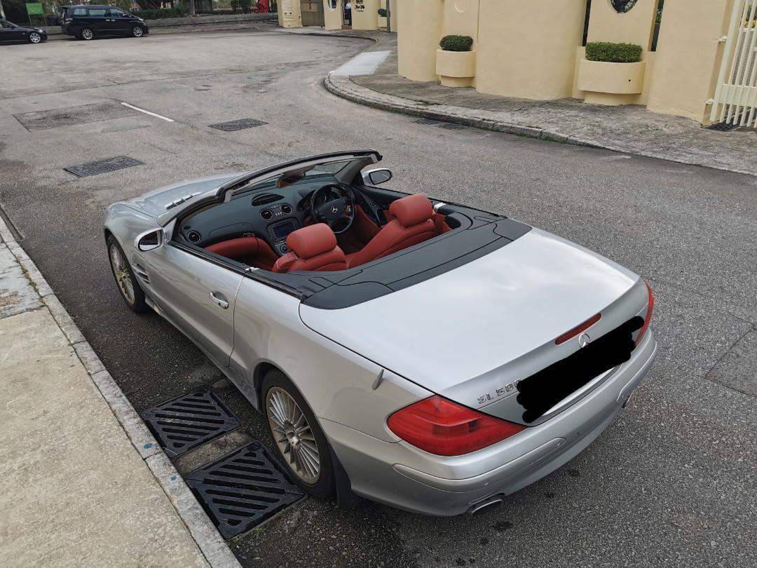 Mercedes-Benz SL500 SL500 Auto