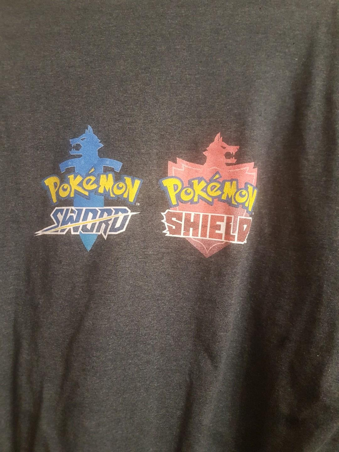 Nintendo Switch Promotional Shirts Super Smash Bros and Pokemon Sword and Shield