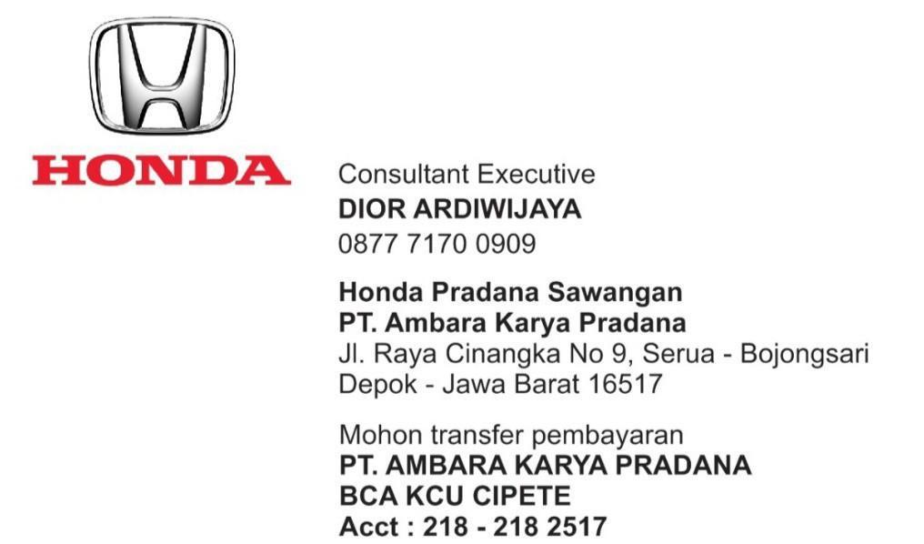 PROMO HONDA BRIO JAZZ MOBILIO CRV BRV CITY CIVIC ACCORD ODYSSEY TERMURAH TERSADIS