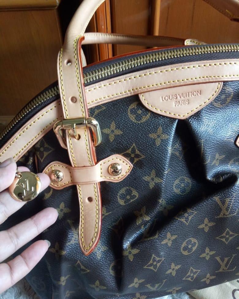 Tas Louis Vuitton tivoly original leather bahan full kulit asli ada no serinya mulus dan Like New