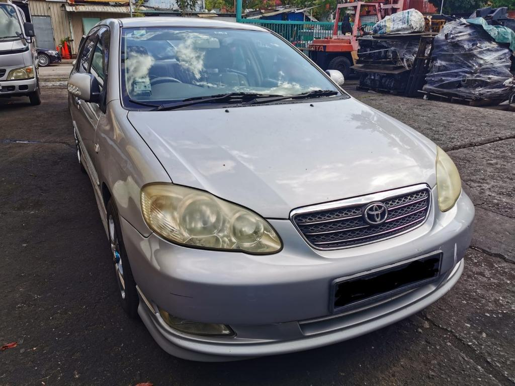 """Toyota Altis 1.6A for Rental (Click on """"read more"""" for more details)"""