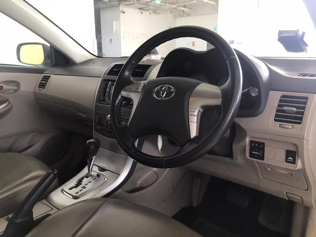 Toyota Altis Cheapest rental in town with just $500 Deposit driveoff immediately. Book a car in advance to enjoy attractive rates now!! Whatsapp 8188 8616.