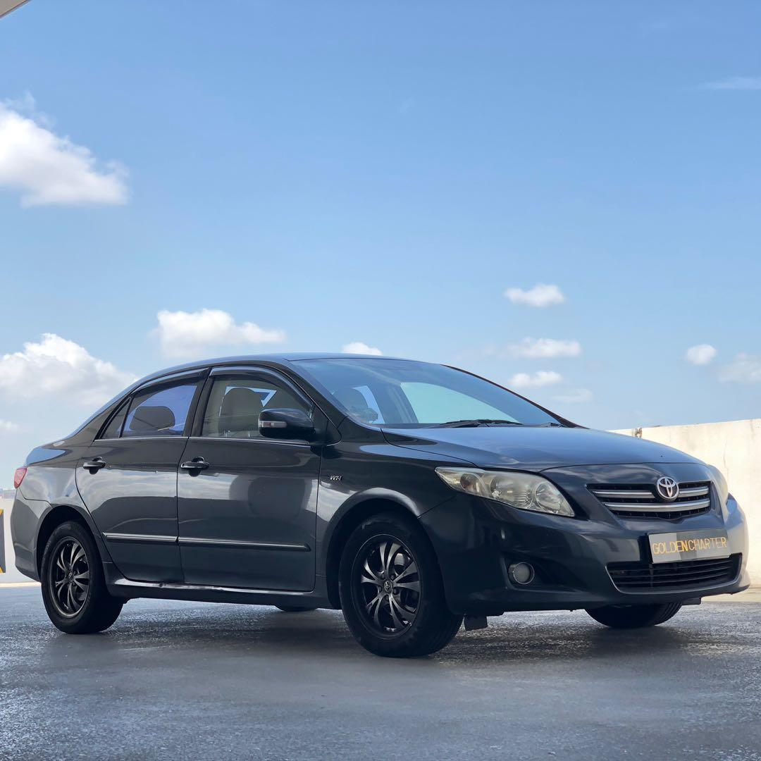 Toyota Altis For Rent ! Gojek   GRAB   PHV   PERSONAL