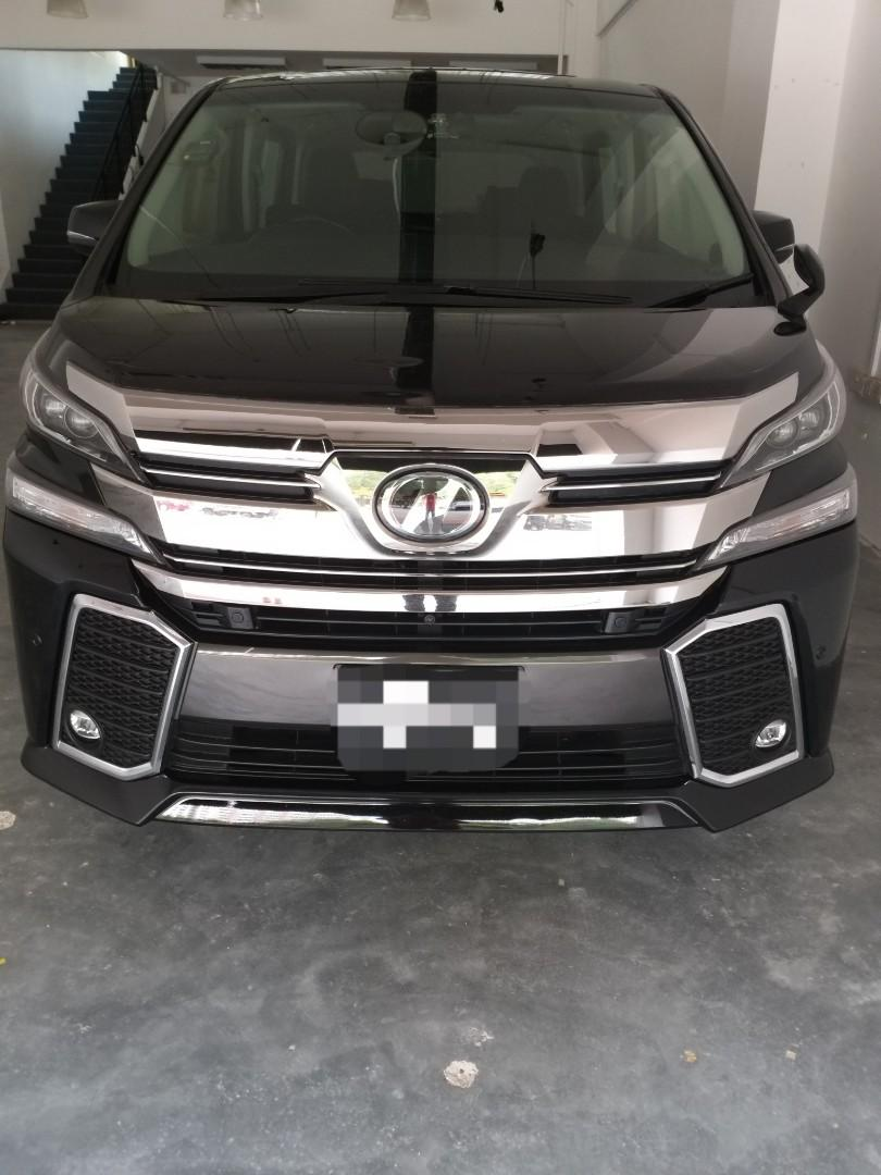 Toyota Vellfire 2.5 Z G Dual Power Door/Sun Roof Auto
