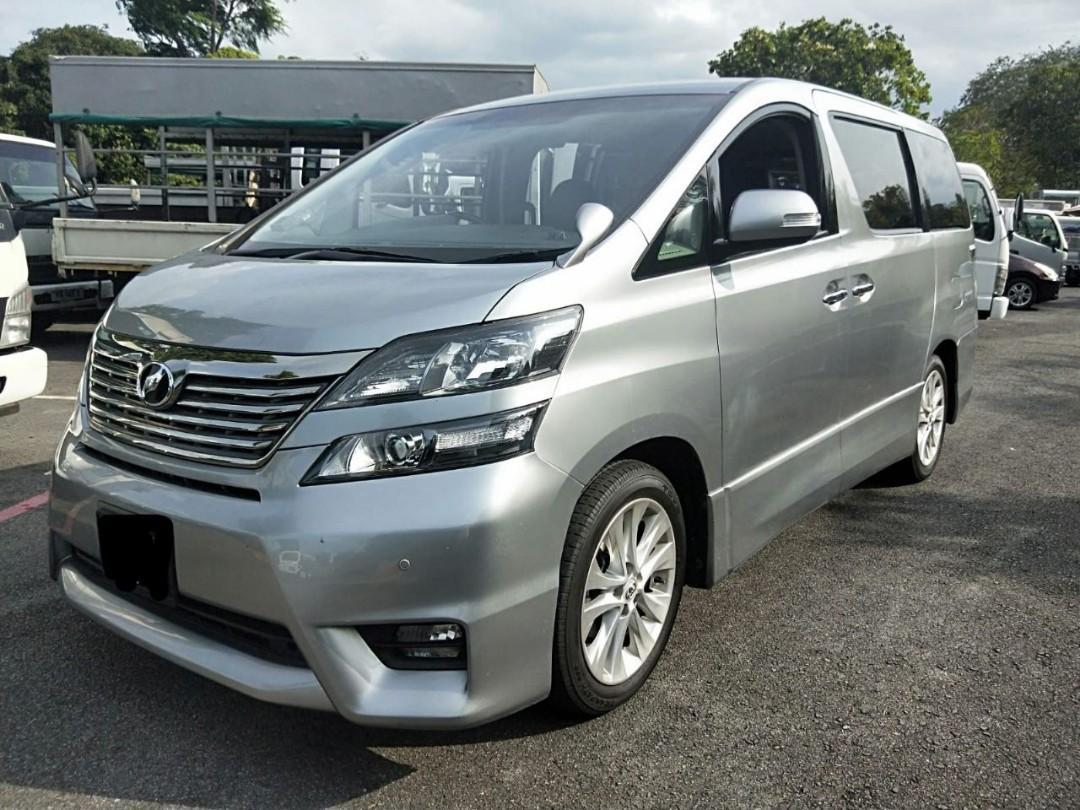 Toyota Vellfire 3.5 (SG CAR COMPLETE DOCUMENT, HALAL DI ATAS JALAN RAYA MALAYSIA)